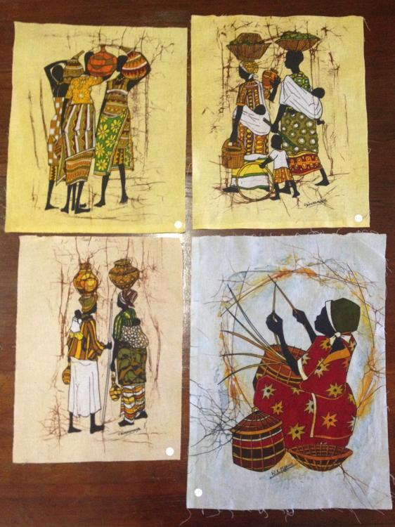 Beautiful Ugandan Batiks 29 39